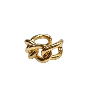 Ring Gold, Ketten Ring, Chain Ring
