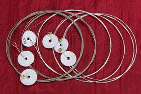 Nickel Wound Ersatzsaiten