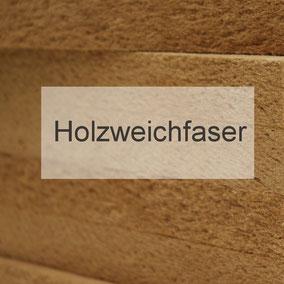 Produktsortiment Holzweichfaser