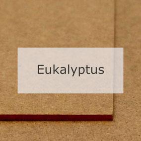Hartfaserplatte Eukalyptus