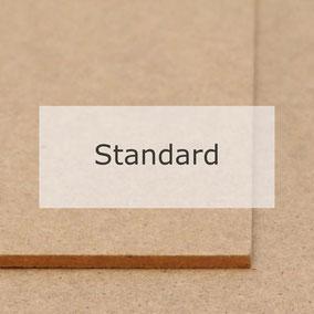 Hartfaserplatte Standard