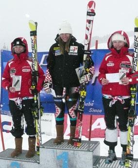 GS: Melissa Köck (2.), Rea Hraski (1.), Kristina Köck (3.)