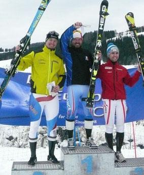 SL: 2.Philipp Steiner, 1. David Pelletier, 3. Christof Lebelhuber