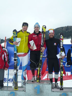 Steiner Philipp (2.), Lebelhuber Christof (1.), Pelletier David (3.)