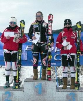 SL: 2.Kristina Köck, 1. Rea Hraski, 3. Melissa Köck
