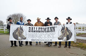 Andre Engelhardt mit BCB - Ballermann Ranch Country Band