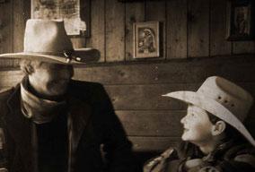 Andre Engelhardt mit Max-Phillip - Ballermann Ranch