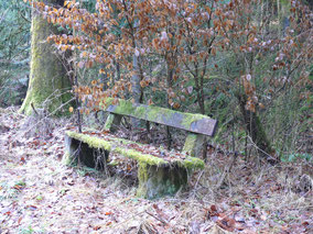 Ruhebank, Reichswald bei Simmelberg
