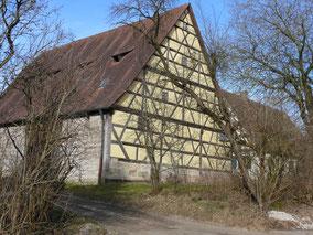 Fachwerkscheune in Simmelberg