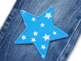 Bild: Hosenflicken Flicken für Kinder Sternchen