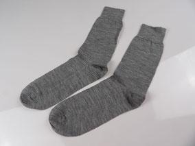 Baby Alpaka Premium Socks grau.  mimundo24.de