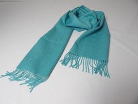 Schal Baby Alpaka Premium Turquoise. mimundo24.de