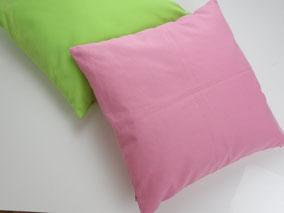 Kissenbezug Baumwolle, Pink. mimundo24.de