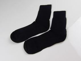 Baby Alpaka Hiking Socks, schwarz.  mimundo24.de