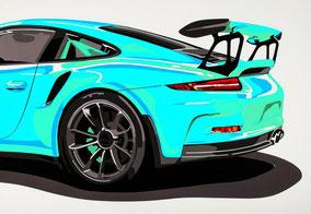 Wallpaper GT3 RS (mint)