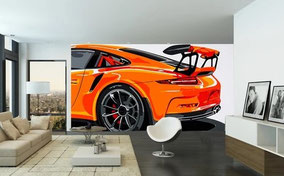Wallpaper GT3 RS (orange)