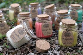 Bougies parfumées à la cire de soja