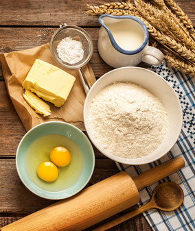 simple ingredients for baking from Think Ingredients