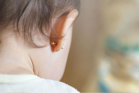Earrings for Babies - Benidorm Pharmacy