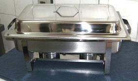 Chafing Dish mit Deckel