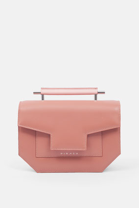 leather Crossbody bag handbag bolso de piel rosa