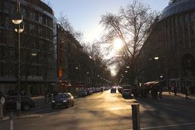 Seitenstraße vom Ku´damm