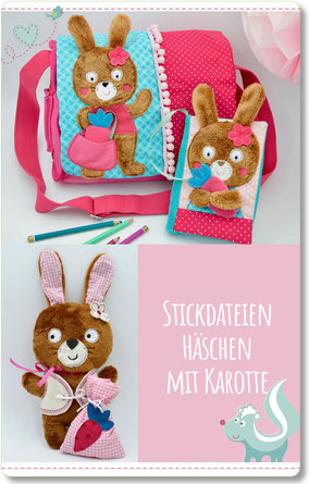 Stickdatei Hase ITH