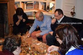 dégustation oenologique à domicile - Rendez-Vous dans les Vignes