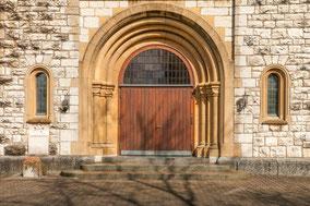 Kirche St. Sebastian, Eingangspforte