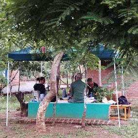 Accomodation in Malawian village