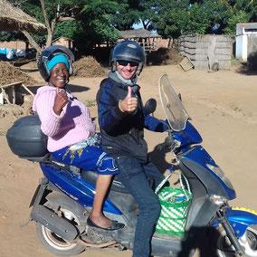 Workshops for everyone in Malawian village