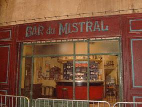 Le bar du Mistral, dans les studios de la Belle de Mai à Marseille