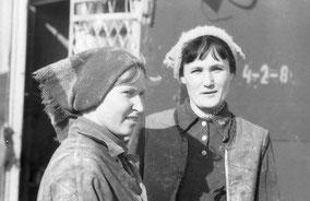 бригадир А.Попова (справа)