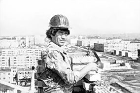 Н.Луговской - каменщик СМП-636
