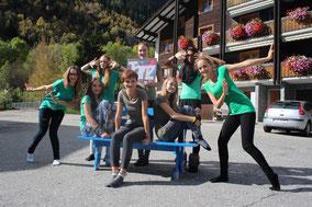 Zweite Tanzgruppe Muucamp 2014