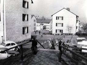 dudweiler, saarbruecken, hofweg, 1954