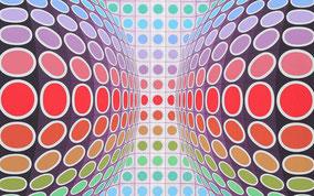 Victor Vasarely Siebdruck
