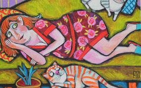 Lora Monz Gemälde