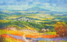 Jean Claude Picard mediterrane Gemälde