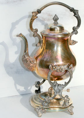 Chaffing Tea Pot