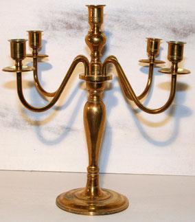 Brass Candelabra 1