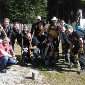 Betriebsausflug, Vereinsausflug, Firmenevent, Bogenschießen in Bodenmais im Bayerischen Wald, 3D Jagdparcours