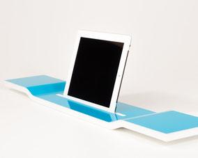 Bild. iPad Halterung Badewanne, tablet Badewannenhalterung