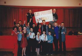 Compétition à Blotzheim le 10/02/2001