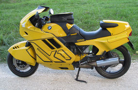 BMW k1 - yellow blackmate