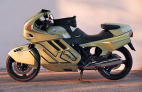 BMW k1 - green black