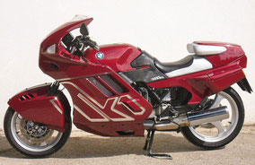 BMW k1 - red chromate
