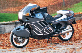 BMW k1 - grey white