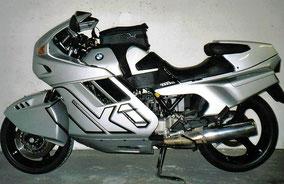 BMW k1 - silver black