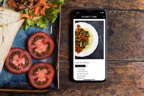 Deine eigene Rezepte-App bei eat app live